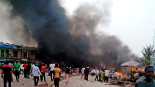 Kislány robbantotta fel magát Nigériában