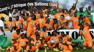 Afrika Kupa: Házat és pénzt kaptak a győztes focisták