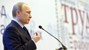Putyin népszerűsége az egekben