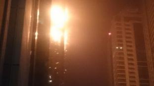 Pokoli torony Dubaj – Lángokban a felhőkarcoló