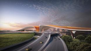 Így fog kinézni az új Nemzetközi Repülőtér Pekingben