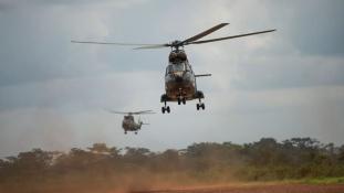 Francia légicsapás a Közép-afrikai Köztársaságban