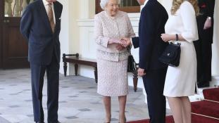 Erzsébet királynőnél vizitelt a mexikói elnök Londonban