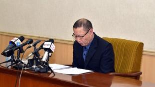 """Két dél-koreai """"kémet"""" mutattak be Észak Koreában"""