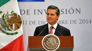 """A mexikói elnöknek """"rossz a sajtója"""""""
