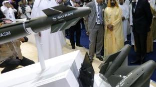 Rekord üzletkötés az abu dhabi fegyvervásáron