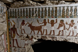 EGYPT-ARCHAEOLOGY-TOMB