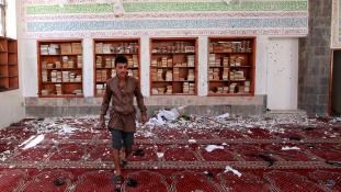 Folyóként folyt a vér. Már több mint 120 halott Jemenben