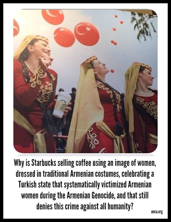 A Starbucks felszította az örmény-török viszályt
