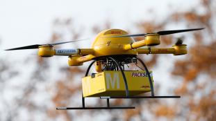 Házhoz szállitás drónnal Amerikában