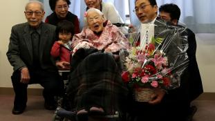 117. születésnapját ünnepli a világ legöregebb embere