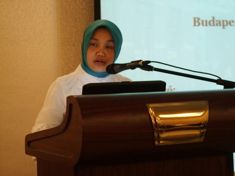 Dini Vita Widjoningtias az Indonéz nagykövetség 3. titkára