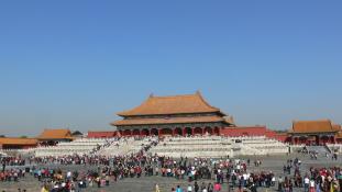 Tilos a szelfi a Palota Múzeumban Pekingben