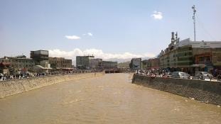 Lincselés Kabul belvárosában
