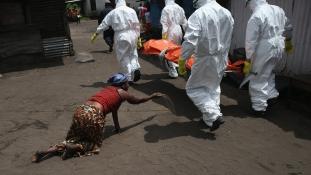 Továbbra is fertőz az Ebola Nyugat-Afrikában