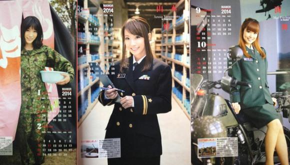 self-defense-force-calendar-girls