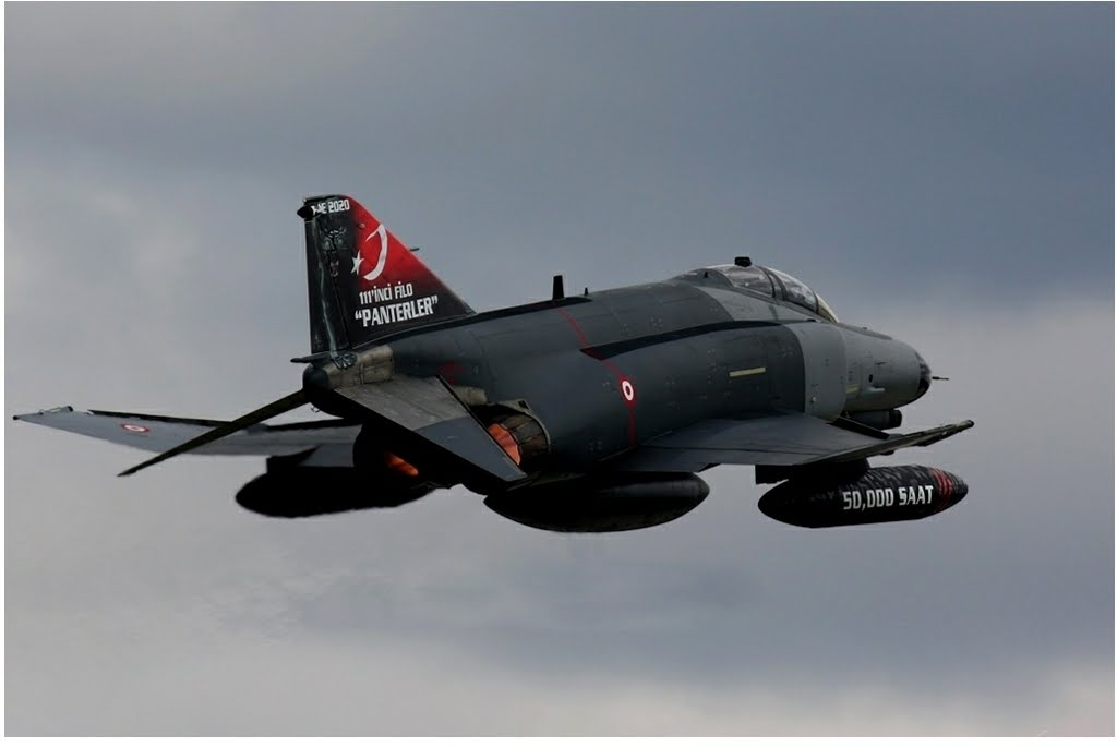 Törökország repülő koporsói: F–4 Phantomok