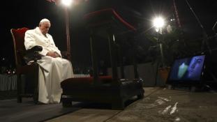 Ferenc pápa a szenvedés iránti közönyről