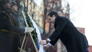 Miről tárgyal ma a görög miniszterelnök Moszkvában?