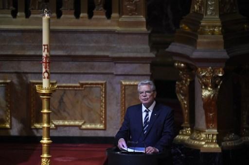 Gauck berlini katedrálisban elmondott beszéde