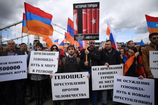 Demonstráció Moszkvában.