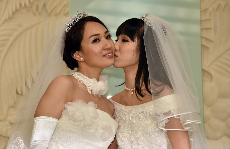 JAPAN-HOMOSEXUALITY-MARRIAGE