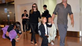 Szíriai háborús árva lesz Angelina Jolie-ék hetedik gyermeke?