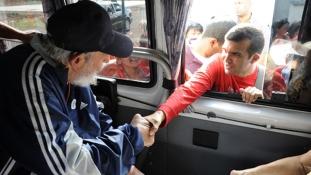 Fidel él és virul – ismét a nagyközönség előtt a comandante