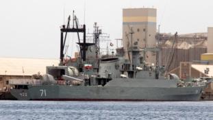 Iráni hadihajók Jemen partjainál