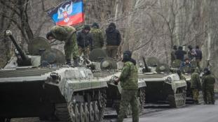 NATO: Orosz csapatösszevonás Kelet-Ukrajában