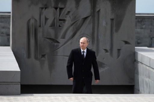 """Putyin Jerevánban. Az orosz diplomácia üzenetet küldött Ankarába, miszerint """"megértéssel viszonyul"""" Putyin részvételéhez a jereváni évfordulós megemlékezéseken."""