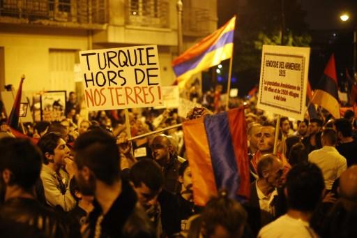 A párizsi tüntetés