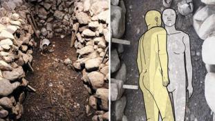 Élve temették a szolgát úrnője mellé
