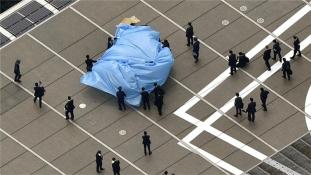 """Feladta magát a """"sugárfertőzött"""" drónt reptető japán férfi"""