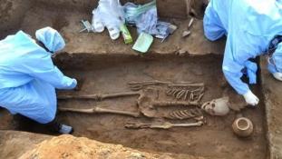 Több mint 4 ezer éves csontvázakra bukkantak Indiában