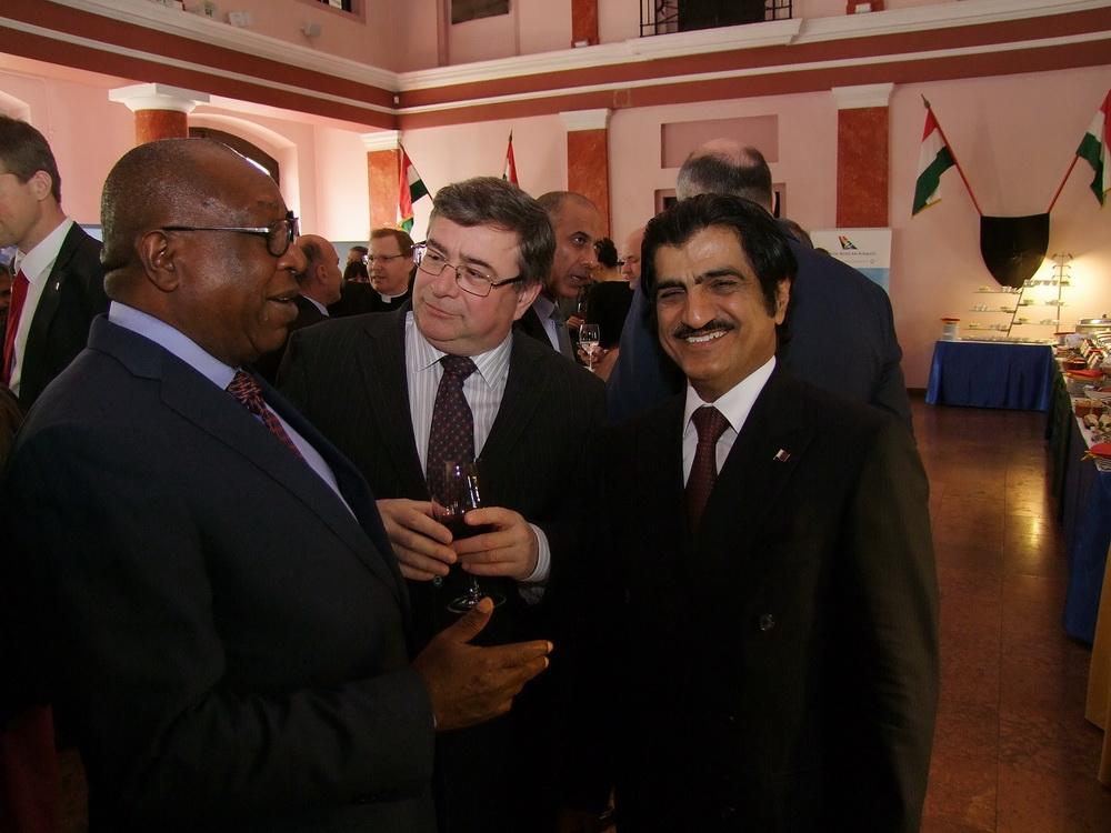 Dél-afrikai fogadás a Hadtörténetiben