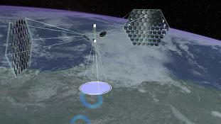 A világűrben épül az új kínai naperőmű