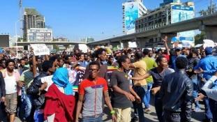 A terrorizmus ellen tüntettek több tízezren Etiópiában