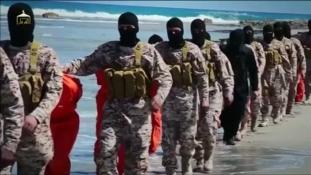 Etióp keresztényeket fejeztek le Líbiában