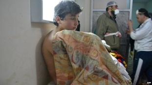 Sírva fakadtak az ENSZ BT diplomatái a szíriai gáztámadásról szóló videón