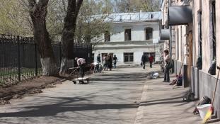Ingyen kaja, szépség tippek: kommunista szombat a mai Moszkvában