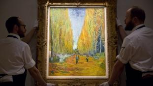 Ázsiai vevő szerezte meg Van Gogh képét 66 millió dollárért New Yorkban