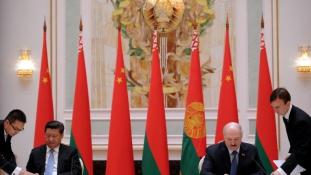 Egymilliárd dolláros kínai kölcsön Belarusznak