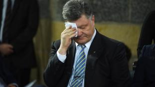 Ukrajna káoszba süllyed, Porosenko nem teljesít