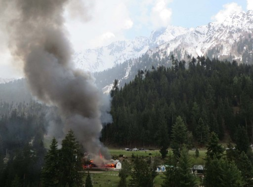 PAKISTAN-HELICOPTER-ACCIDENT-NORTH