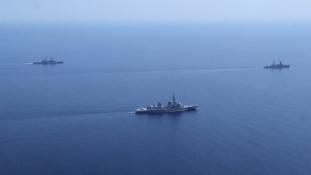 Dóbrij Gyeny, NATO! A Földközi-tengeren tart közös hadgyakorlatot Oroszország és Kína