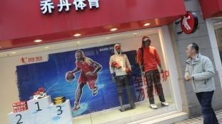 Michael Jordan perli a nevét viselő kínai sportszergyártót