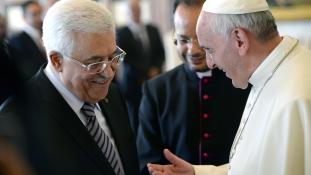 A Vatikán elismeri a palesztin államot – talán már a hét végén