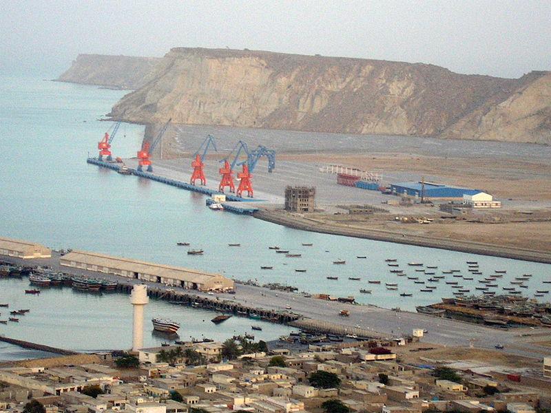 Chabahar kikötő.