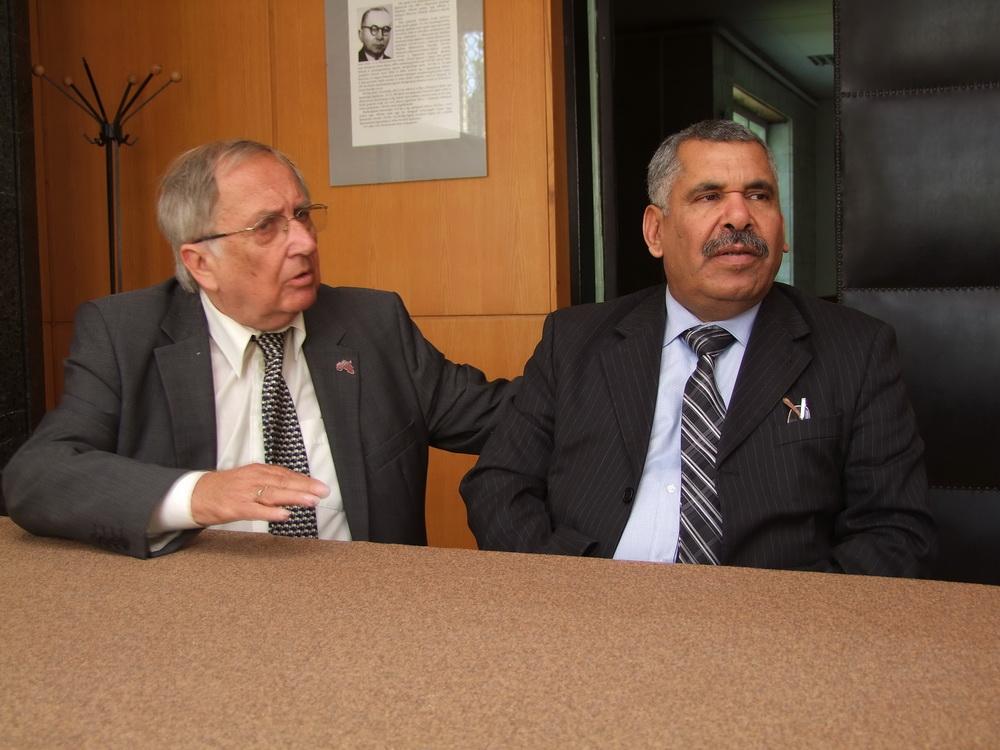 Az algériai nagykövet Herceghalmon